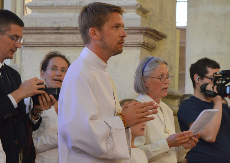 Ordination de Benjamin Dewitte