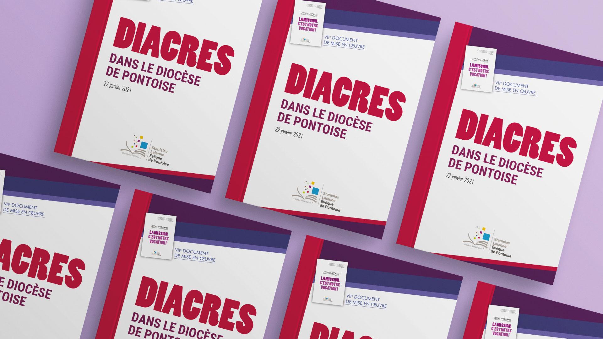 couverture de la publication diacres dans le diocèse de Pontoise