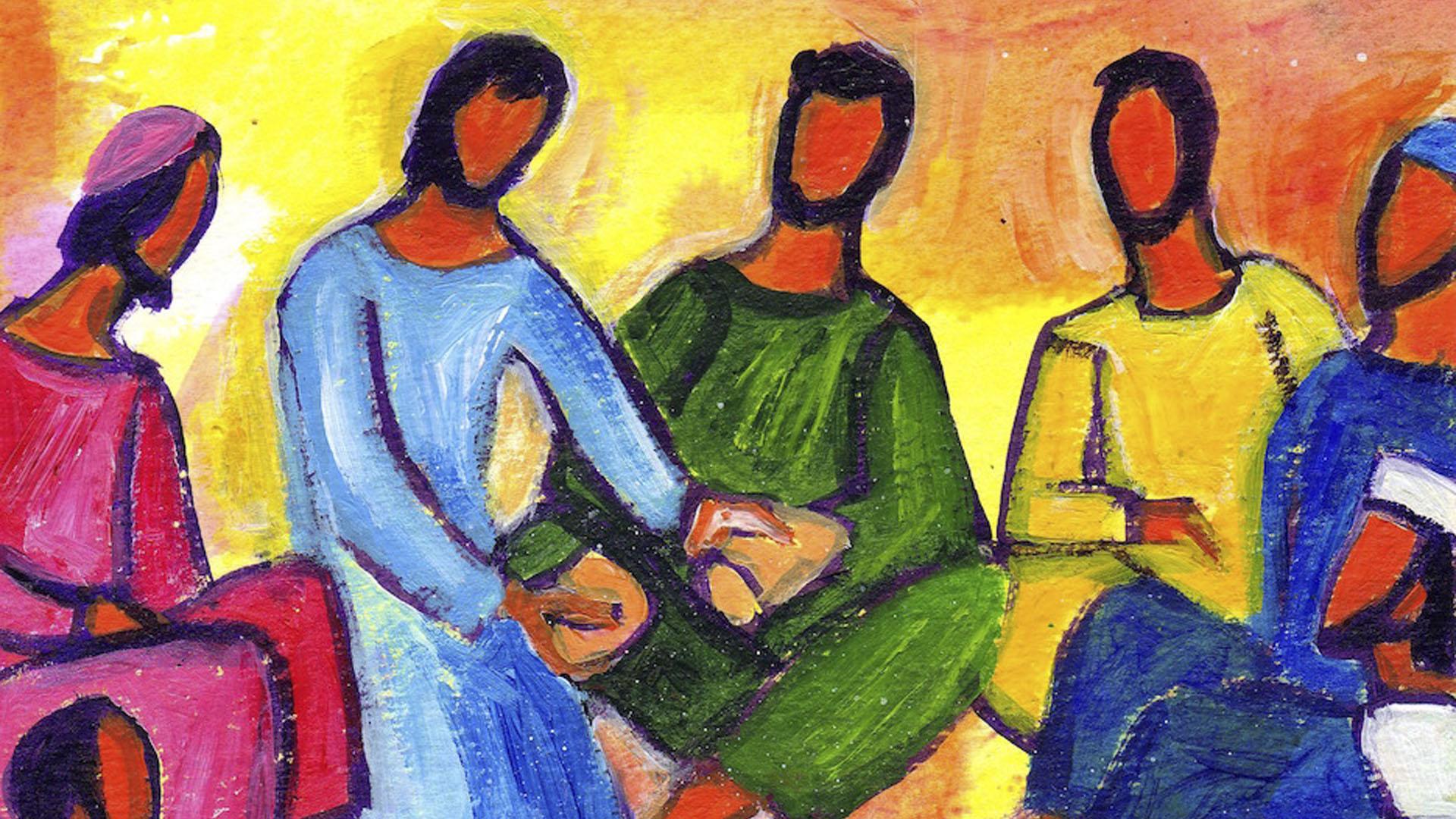 Les Apôtres avec Jésus