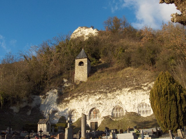 église troglodyte haute isle